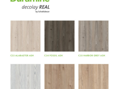 ROSEBURG INTRODUCES DURAMINE DECOLAY REAL BY SCHATTDECOR